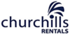 Churchills Rentals logo