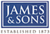 James and Sons logo