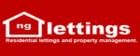 NG Lettings logo