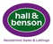 Hall & Benson- South Derby logo