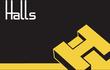 Halls Estate Agents logo