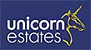 A Unicorn Estates logo