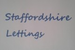 Staffordshire Lettings logo