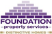 Foundation Distinctive Homes logo