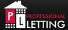 Professional Letting logo