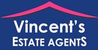 Vincent's Estate Agents logo