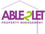 Able2Let Property Management logo
