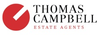 Thomas Campbell Estate Agents logo