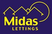 Midas Lettings & Sales logo