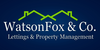 Watson Fox & Co Property Services Ltd logo