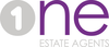 1 Estate Agents logo