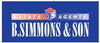 B Simmons & Son logo