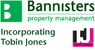 Bannisters, incorporating Tobin Jones Letting Agents logo