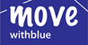 Move With Blue logo