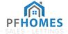 P F Homes logo