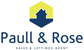 Paull & Rose Estate Agent logo