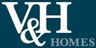 V&H Homes logo