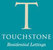 Touchstone Residential Lettings logo