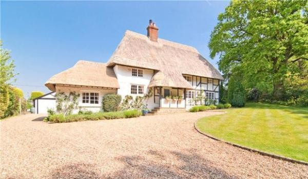 Thatched cottages are packed with British charm ...