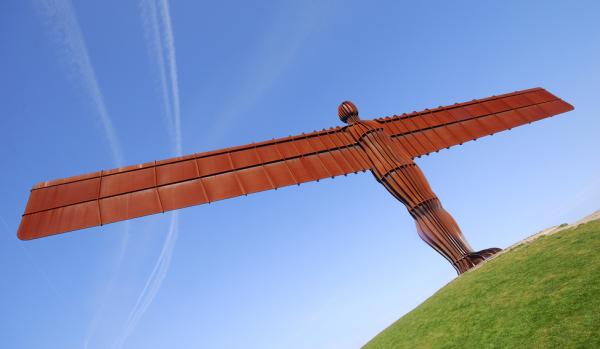 Angel of the North in Gateshead