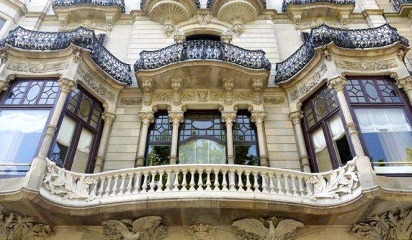 Beautiful architecture in Barcelona.