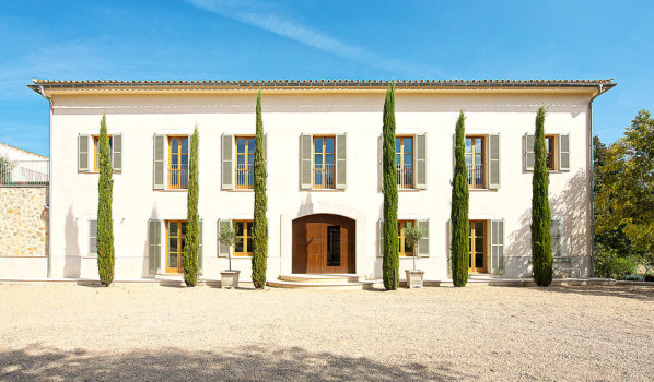 A country house in Majorca.