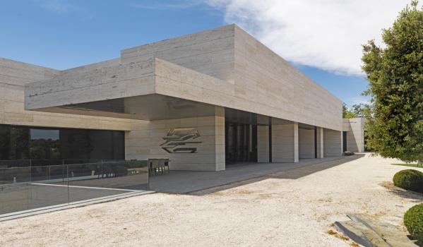 Modern architecture in Madrid.