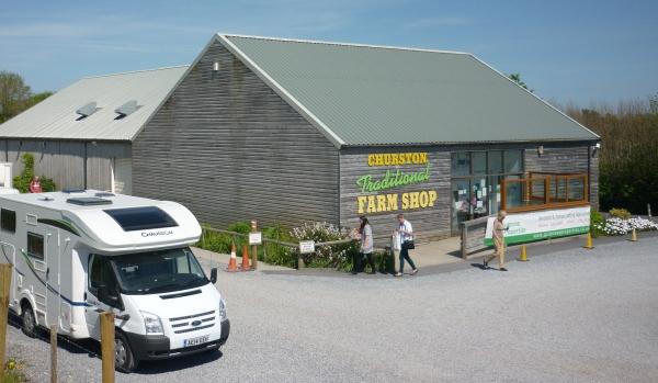 Farm shop in Brixham.