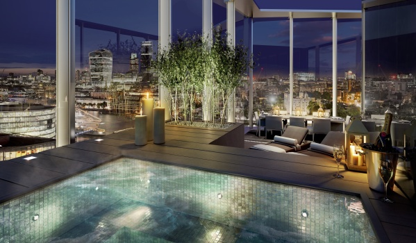Swimming pool in Tooley Street development.
