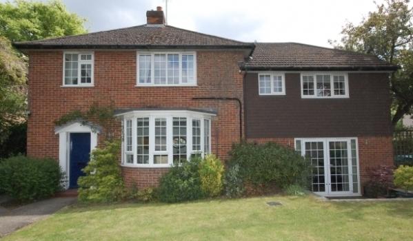 A house on Salisbury Road in Farnborough Park.