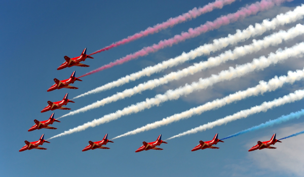 Airshow at Farnborough.