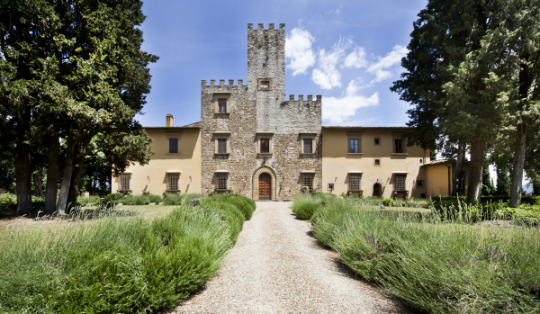 Historic property near Florence in Tuscany.