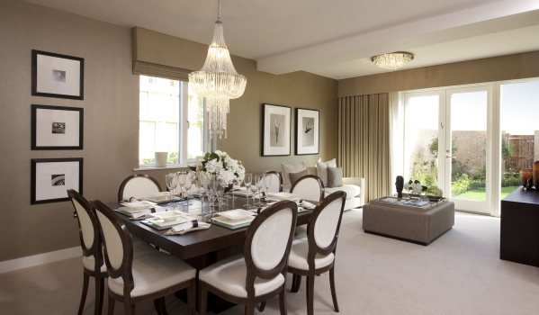 Inside a new-build home in York.