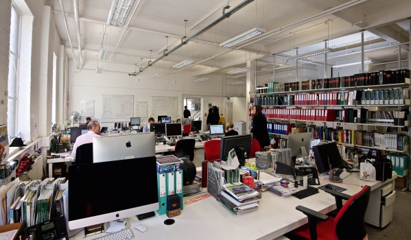 Office in Chelsea Wharf.