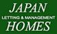 Japan Homes logo