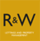 R&W Lettings Logo