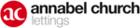 Logo of Annabel Church Lettings