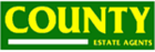 County Estate Agents logo