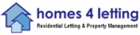 Homes 4 Letting logo