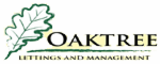 Oaktree Lettings and Management Logo