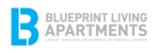 Blue Print Living Apartments Logo