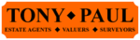 Tony Paul Estate Agents logo