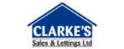 Clarke's Sales & Lettings logo