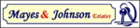 Mayes and Johnson Estate logo