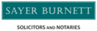 Sayer Burnett Solicitors Logo