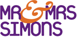 Mr & Mrs Simons Logo
