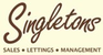 Singleton Homes logo