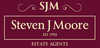 Steven J Moore Estate Agents logo