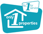 Only 1 Properties logo