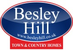 Besley Hill Town & Country Homes logo